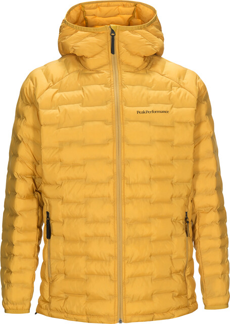 Peak Performance Argon Light Kapuzenjacke Herren smudge yellow
